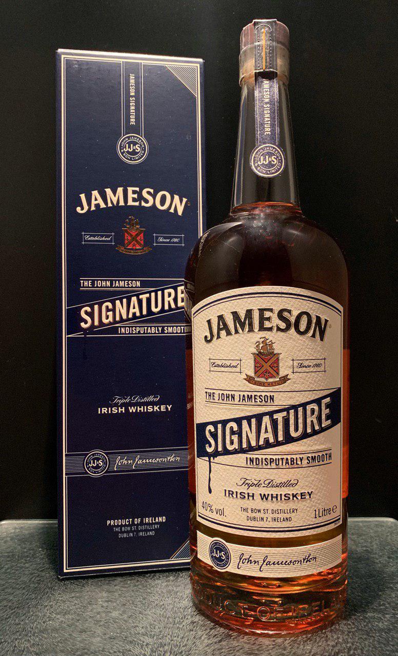 Виски Джеймсон Сигнатур Резерв Jameson Signature Reserve 1л