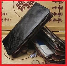 Черный клатч Devis / Дэвис оптом. Мужские портмоне.