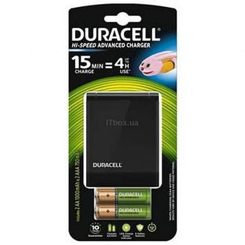 Зарядное устройство для аккумуляторов Duracell CEF27 + 2 rechar AA1300mAh + 2 rechar AAA750mAh (5001374)