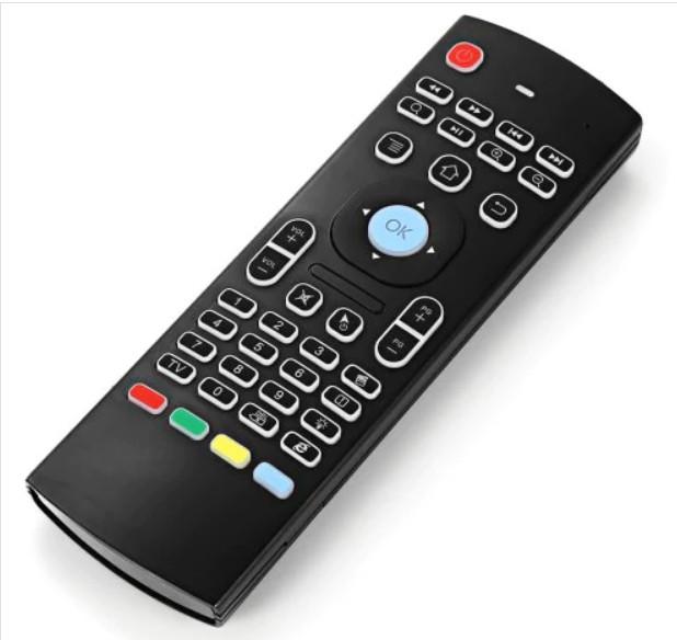 Air mouse MX3 пульт дистанционного управления с подсветкой и микрофоном