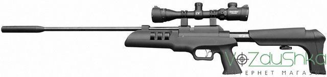 Artemis sr900s с установленным оптическим прицелом