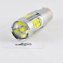 Светодиодная лампа SLP LED Cree в задний ход автомобиля с цоколем 1156(BA15S,P21W)  150W 9-30V 1400lm Белый, фото 3