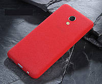 Чехол MAKAVO для Meizu M5 Бампер ультратонкий красный