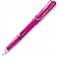 Ручка Чернильная Lamy Safari Розовая F / Чернила T10 Синие (4014519281610)