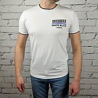 Футболка мужская Hector 15022 белая (Украина) M