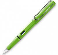 Ручка Чернильная Lamy Safari Зелёная F / Чернила T10 Синие (4014519661559)