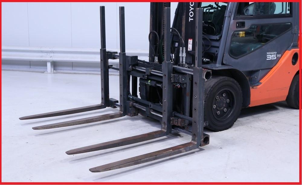Двохпаллетный захват Meyer 6-5206N, 2500 кг грузоподъемность, на 3 класс!