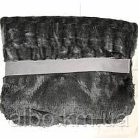 Плед покрывало Норка ALBO 200х230 cm Графитовое (P-A13-2), фото 10