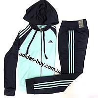 Женский костюм оригинал adidas Re-Focus DN8527 сезон:весна цвет:синий бирюзовый