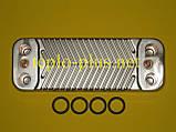 Теплообменник вторичный (14 пластин) 0020025294 Protherm Тигр (Tiger) 24 KTV 12, 24 KOV 12, фото 2