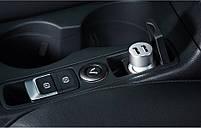 Автомобильное зарядное устройство Meizu Dual-Port Car Charger Grey, фото 6