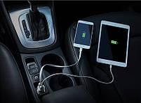 Автомобильное зарядное устройство Meizu Dual-Port Car Charger Grey, фото 7