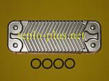 Теплообменник вторичный (14 пластин) 0020025294 Protherm Тигр (Tiger) 24 KTV 12, 24 KOV 12, фото 4