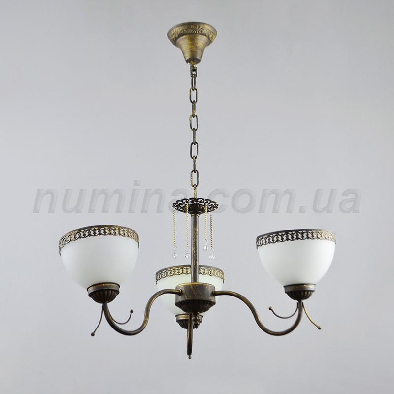 Люстра подвесная на 3 лампы 14-1036/3BKG