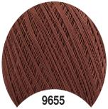 Турецкая пряжа для вязания Altin basak Maxi (МАКСИ) мерсеризованный хлопок 9655 коричневый