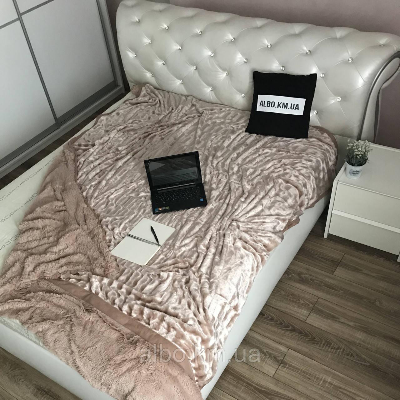 Покрывало из искуственного меха на кровать диван, двуспальное покрывало в комнату на кровать диван, покрывала