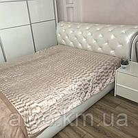 Покрывало из искуственного меха на кровать диван, двуспальное покрывало в комнату на кровать диван, покрывала, фото 6
