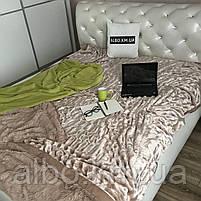 Покрывало из искуственного меха на кровать диван, двуспальное покрывало в комнату на кровать диван, покрывала, фото 4