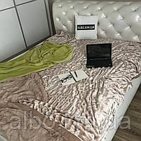 Покрывало из искуственного меха на кровать диван, двуспальное покрывало в комнату на кровать диван, покрывала, фото 2