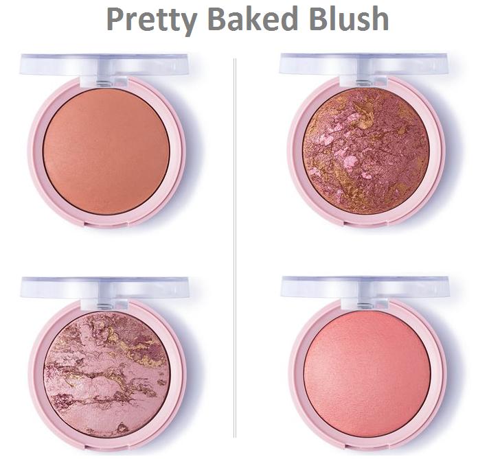 Румяна запеченные Pretty Baked Blush (by Flormar)