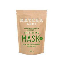 Маска с Матчей  Anti-aging Matcha Mask