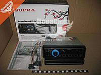 Автомагнитола 1-DIN (SUPRA) (USB+AUX+SD-card-MP-3) (синяя подсветка)   SCD-505U