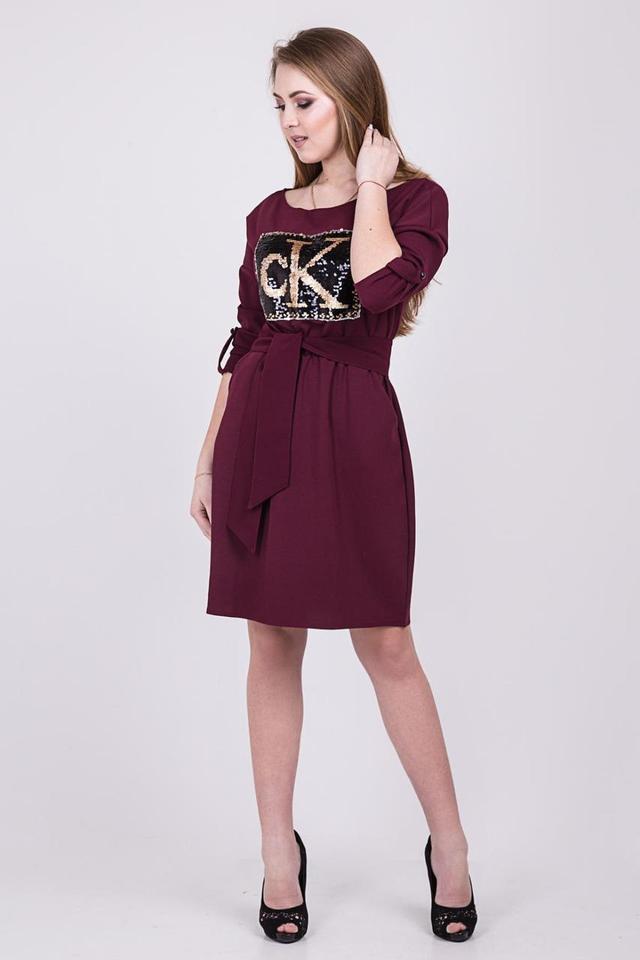 77049f64508dd Стильное платье с надписью CALVIN KLEIN , цена 130 грн., купить в ...