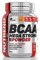 Nutrend BCAA mega strong powder 500g, фото 1