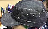 Немка серо-синяя из джинса  с флисом и без  раз 61 62, фото 3