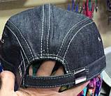 Немка серо-синяя из джинса  с флисом и без  раз 61 62, фото 4