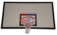 Баскетбольный щит металлический тренировочный размером 1200х900мм, фото 1