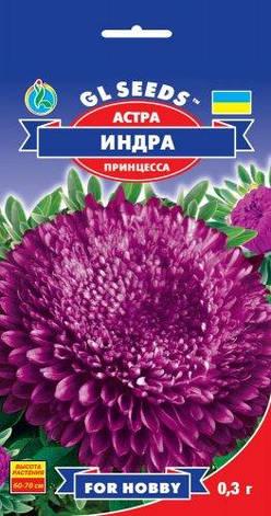 Семена Астра Индра Пурпурная красавица, фото 2