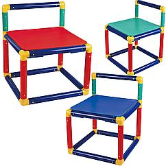 4 детских сборных стула Gigo детский набор мебели (3599)