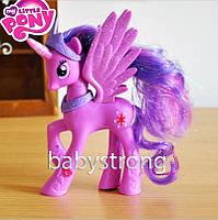 Фигурка Пони 14 СМ My Little Pony Искорка Мой маленький пони Игрушка для девочек Единорог
