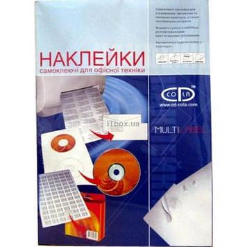 Этикетка самоклеящаяся TAMA 70*25,4 (33 на листе) A4 100 листов (7326)
