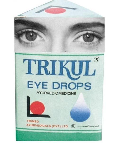 Глазные капли Трикул, Trikul Eye Drops, 15 мл