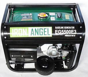 Генератор Iron Angel EG 5500E3, фото 2