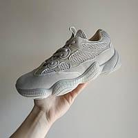 37 размер  Adidas Yeezy 500 БЕЖЕВЫЕ  КОПИЯ  женские кроссовки адидас изи 500 \