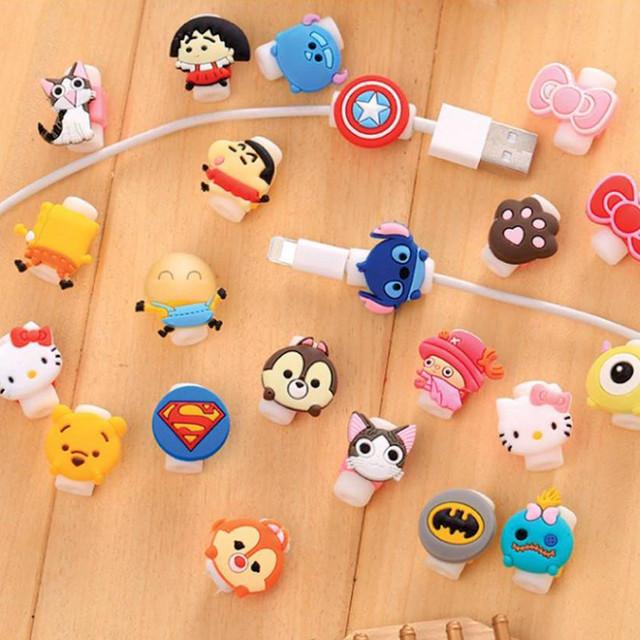 Защитная насадка для кабеля Apple (Персонажи)