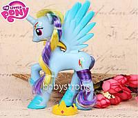 Фигурка Пони 14 СМ My Little Pony Радуга Дэшф Мой маленький пони Игрушка для девочек Единорог