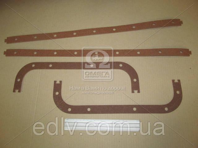Прокладка картера масляного ЯМЗ 236 (поддона) (пробк,) (пр-во Украина)236-1009040А3