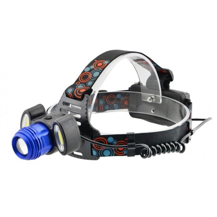 Налобный фонарь BL POLICE С862 3 диода T6 фонарик 1480 Lumen