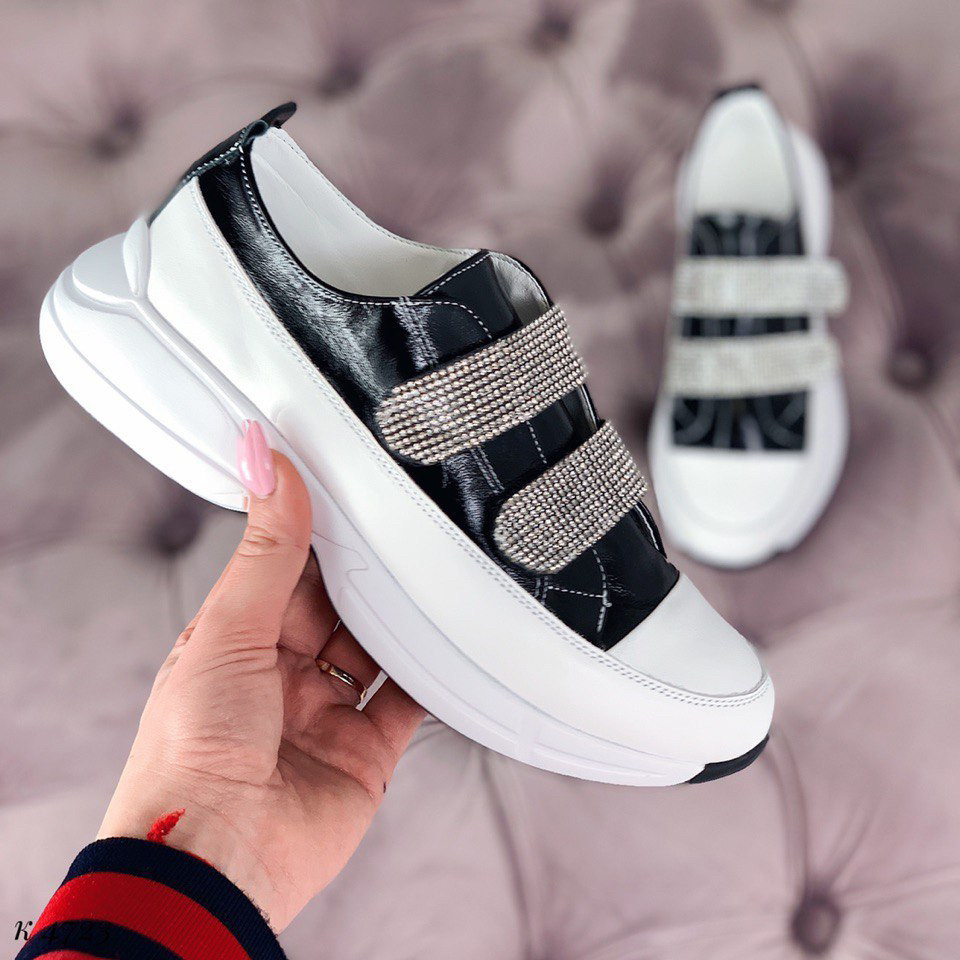 d677a29d Удобные женские кроссовки эко кожа на липучке : продажа, цена в ...