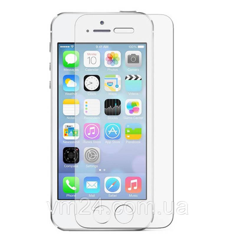 Защитное стекло  iPhone 5/5S/5SE, 0.3mm, 9H