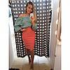 Стильная юбка-карандаш до колена (разные цвета), фото 2
