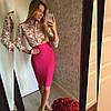 Стильная юбка-карандаш до колена (разные цвета), фото 4