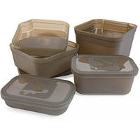 Bait Tub Medium Size, 0.6л коробка Avid Carp