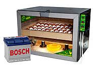 Инкубатор Тандем на 80 куриных яиц 12 вольт