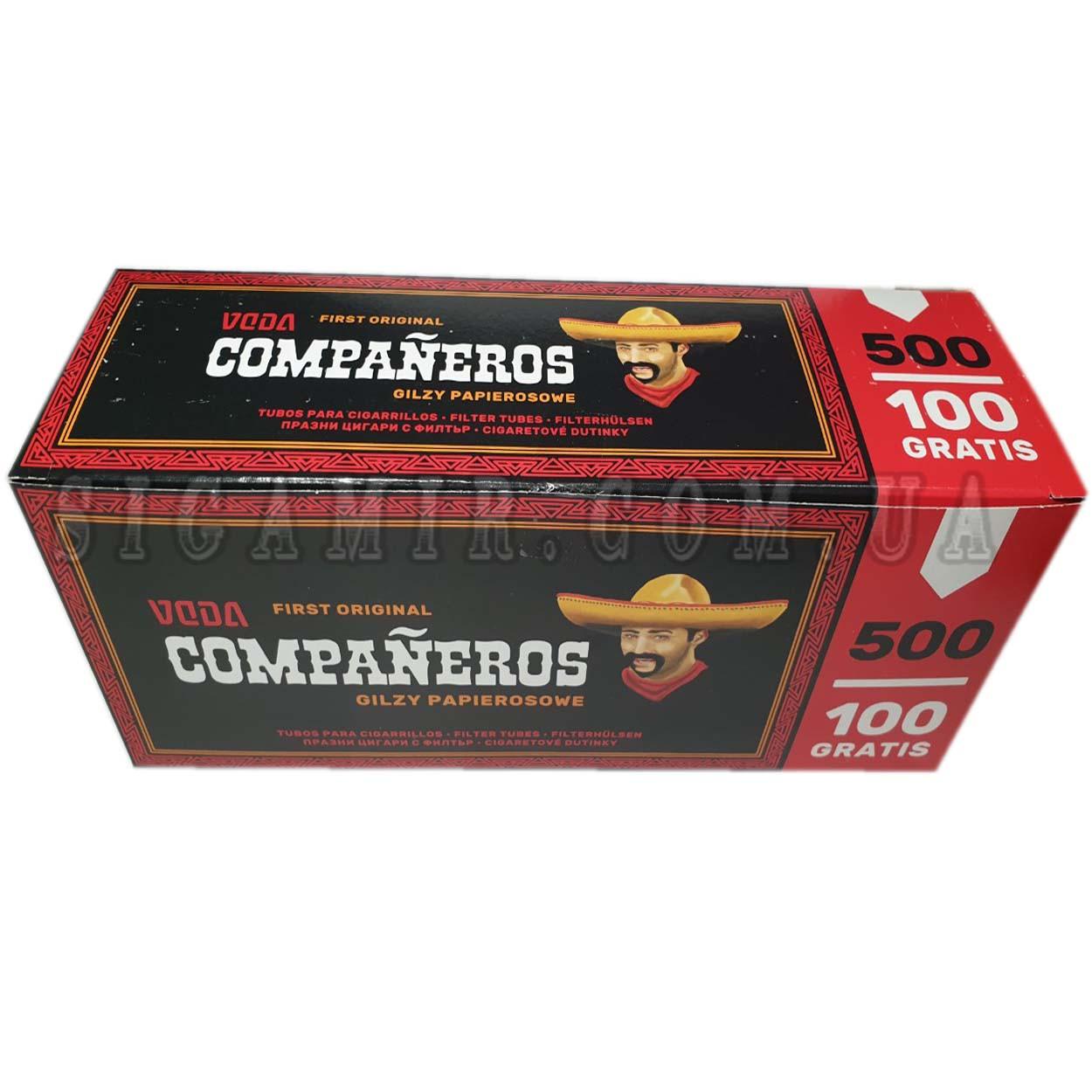 Сигаретные гильзыCompaneros500шт.