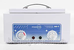 Сухожарова стерилізатор Микростоп М1 компактый сухожаровый шафа для салонів краси, для манікюрних студій